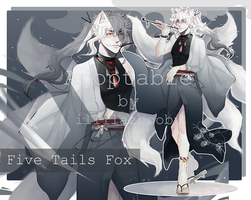 [Closed] KITSUNE's AUCTION !! by MOSQUILA