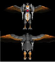 Wishmaster's Silverbolt, fully textured by XSilverboltX