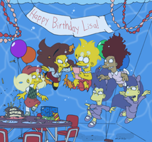 Happy Birthday Lisa by underwatertoons