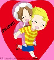 PK Love_Lucas and Nana by RyuujiKarami