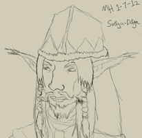 Practice Sketch 2: Svaga-Daga by Markus-The-Madman