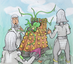 Movellans vs Dalek Mutant by DinoDilopho