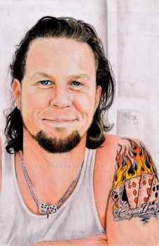 James Hetfield - smile by Shamaanita