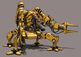 Contact - Loader Mech by Shimmering-Sword