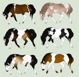 Paint horse adopts by WildForests-Stables