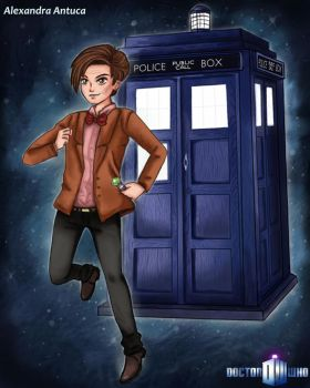 The 11th Doctor by Alessairi