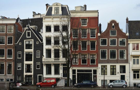 Amsterdam Architecture by ArtByCleeland