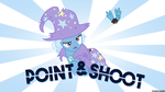 Point and Shoot (Wallpaper) by filipino-dashie