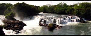 Rio Claro Waterfall by TJShots