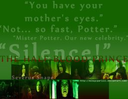 Severus Snape by MIKEYCPARISII
