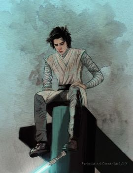 Young Ben Solo by Veronika-Art