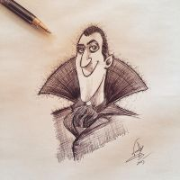 Count Dracula by Nephellim