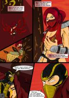Mortal Kombat Issue #2 Page 7 by MarcusSmiter