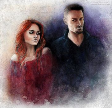 Peter Hale and Lydia Martin by MeduZZa13