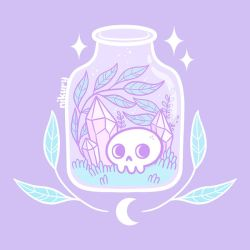 Pastel Witch Terrarium by Nikury