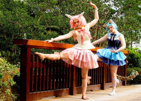 Ballet Inspired by KaleidoscopeCosplay