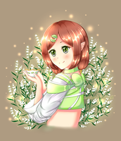 Contest Prize: Leaf Spirit by Lucina-Waterbell