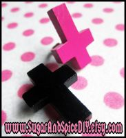 Wicked Crosses Ring and Brooch by wickedland