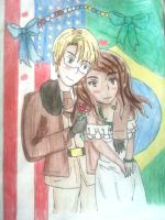 .:Commission:.APH: AmericaxBrazil by Spirit-Okami