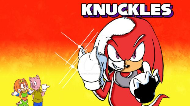STCO 273 : Knuckles wallpaper by ThePandamis