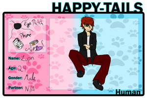 Lupin HappyTails Application by foxster43