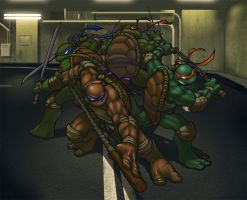 LP and the TMNT by KFoster