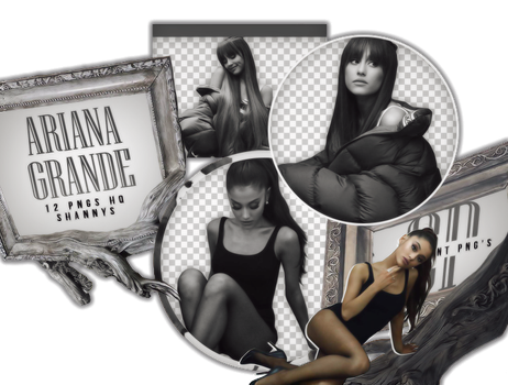 Png Pack 612 // Ariana Grande by confidentpngs