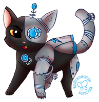 Cyberneticat - Castle Cats Contest Entry by MaeraFey