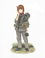 Sturmmann 1943 - Colored by The-King-in-Grey