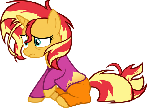 Sunset's Rough Morning by Zacatron94