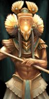 Horus by blotchy-the-squid