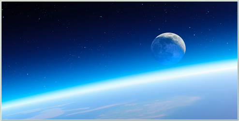 OSX Mountain Lion :: Edge of Space :: iPhone WP by Jamush