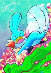 Mudkip by StephyCoco