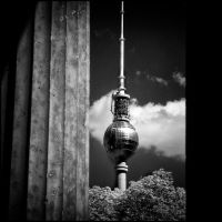 TT - Television Tower infrared by MichiLauke