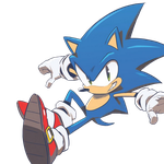 IDW Sonic Render by Vex2001