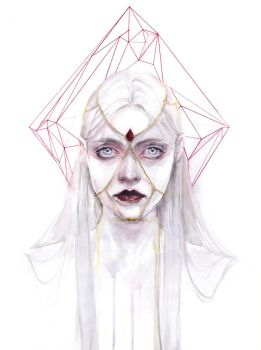 Queen of Diamonds by agnes-cecile