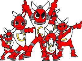 Cutman Brothers and Cutman Elder by tanlisette