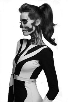 B+W Model PNG by labry-nthine