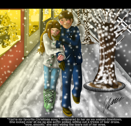 You're my Favorite Christmas song. by Gerundive