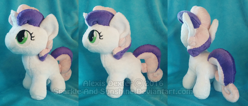 Sweetie Belle - MLP Plushie by Sparkle-And-Sunshine