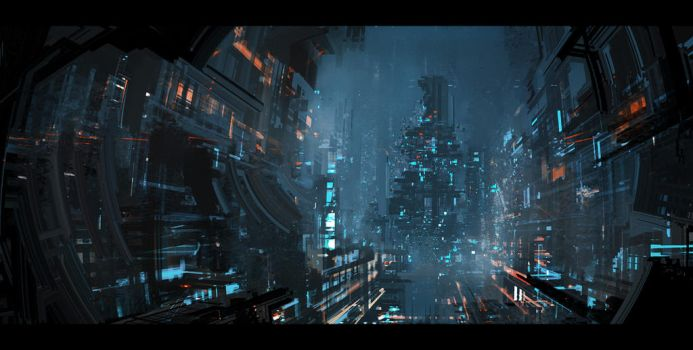 Omega City by VincentiusMatthew
