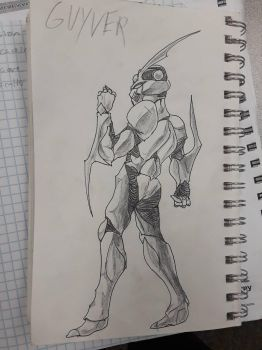 Guyver Commision (complete) by Delchera