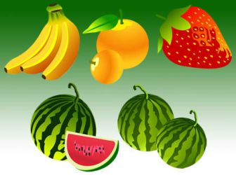 Free Vector Fruit by FreeVectorFinder