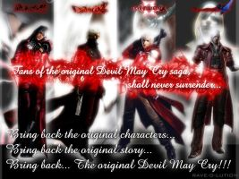 Real DMC fans, shall never surrender... by RAVE-OH-LUTION