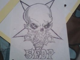 pic 2 of 5 finger death punch by skull-king