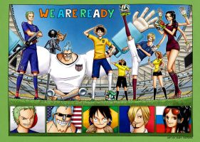 One Piece: World Cup countdown 1 by iurypadilha