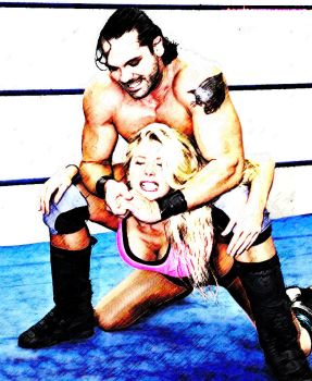 Mixed Camel Clutch by rorydnumber2