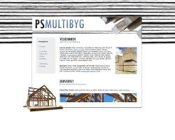 PS Multibyg - Webdesign by Noergaard