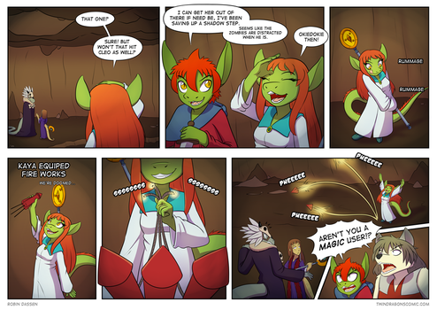 Twin Dragons page 146: Magic user by TheNekoboi