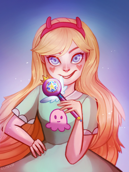 Star Butterfly by mymidnightsnack